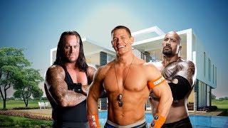 أفضل 11 منزل مصارعين WWE المحترفين !