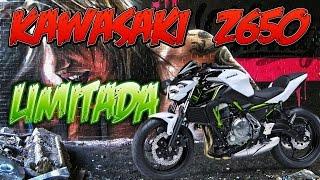 KAWASAKI Z650 LIMITADA A2 - La Mejor Moto Bicilíndrica para Novatos - Prueba Onboard Motovlog Test