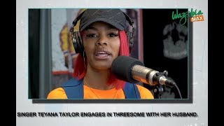 Singer Teyana Taylor Engages In Threesome With Her Husband - The Blog