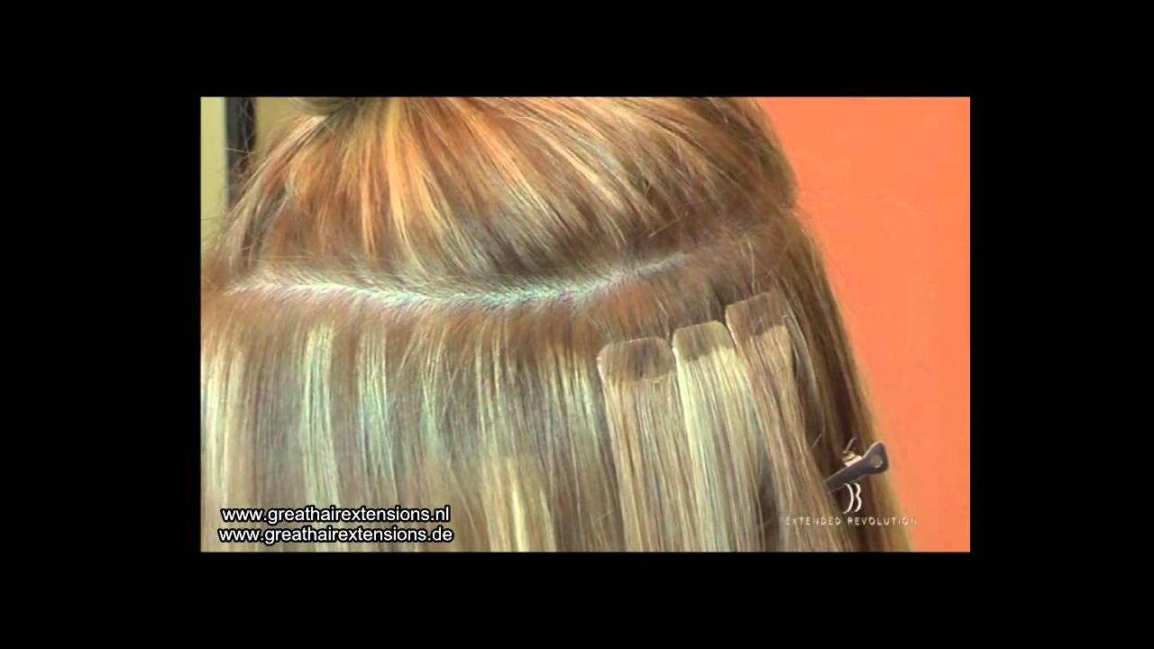 Di Biase Hair Tape Extensions Great Hair Extensions Youtube