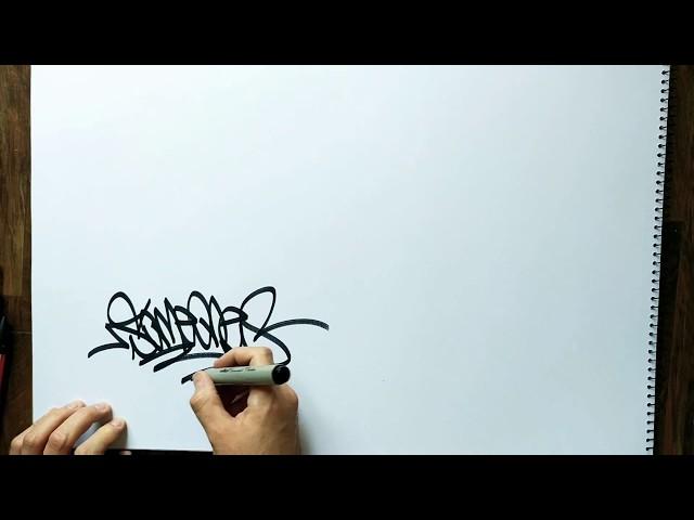 PART 2! - GRAFFITI - SKETCHBOOK HANDSTYLES - RAW VIDEO