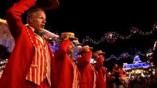 Dapper Dans sing 'Rudolph the Red Nose Reindeer' Christmas song - barbershop quartet