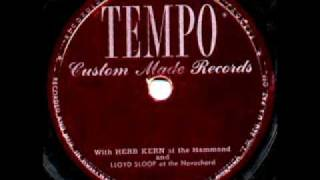 Silent Night by Herb Kern, Lloyd Sloop & Warren Arey on late 1940