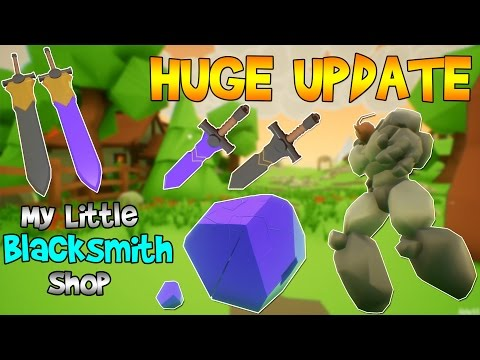THE GOLEM IS ALIVE, MINING & NEW WEAPONS?!...