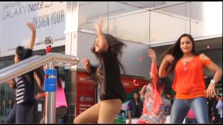 "Sunsilk Flashmob by ""Fusion Girls"""
