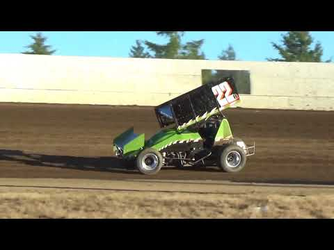 Grays Harbor Raceway, August 26, 2017, 360 Sprint Car Qualifying