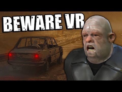Getting Chased By Scary Henchmen in VR- Beware Virtual Reality Gameplay - Scary Car Game |