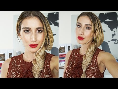 EASY HACK For Fishtail Braid / Plait That Will CHANGE YOUR LIFE!