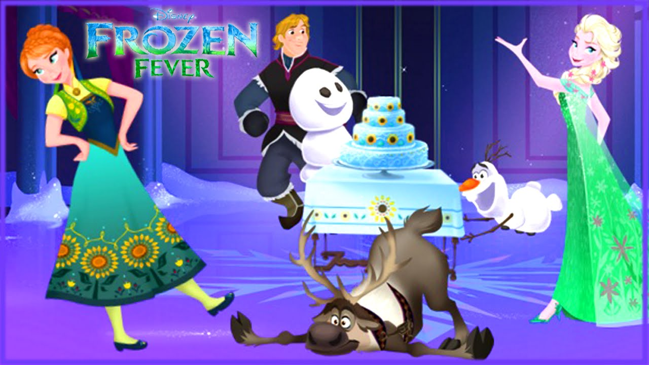 Frozen Fever Princess Annas Birthday Party Disney Holiday Card – Birthday Card Creator