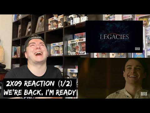LEGACIES - 2x09 'I COULDN'T HAVE DONE THIS WITHOUT YOU' REACTION (1/2)