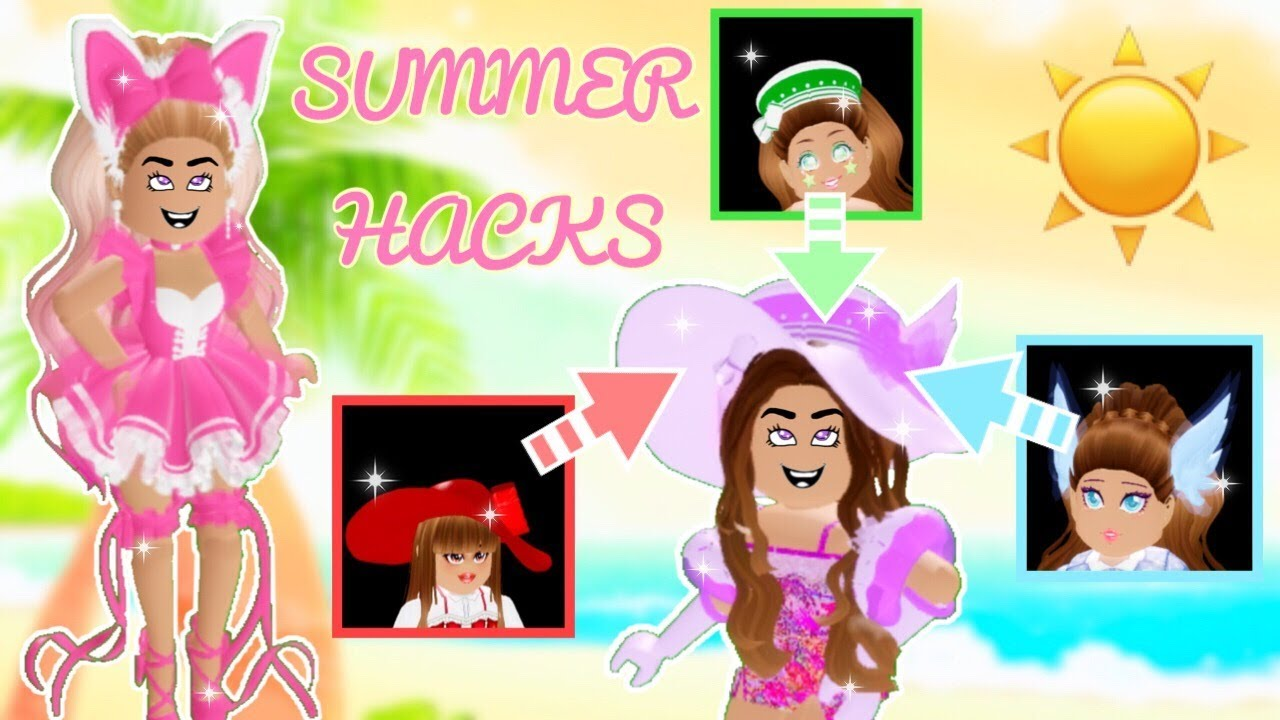 Summer Outfit Hacks With The New Accessories Roblox