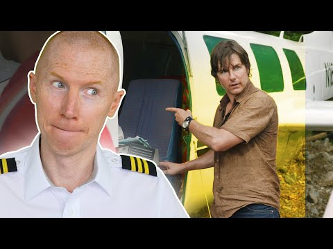 American Made   Hollywood vs Reality   Airline Pilot Reacts