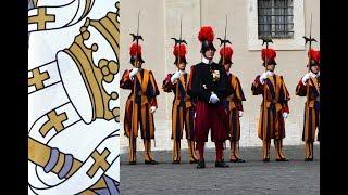 Schweizer Garde - Vatikan - Bundespräsident beim Papst