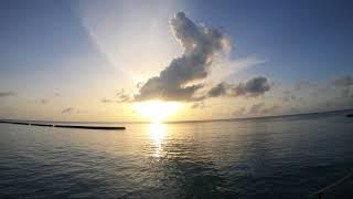 Maldivian Sunrise 4k