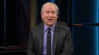 Bill Maher New Rules closing speech: Greed is Good