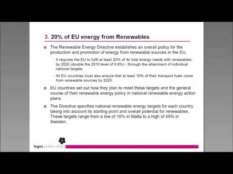 2020 climate & energy package