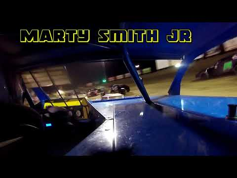 In Car Cam of Marty Smith Jr At Belle-Clair Speedway 7-27-18