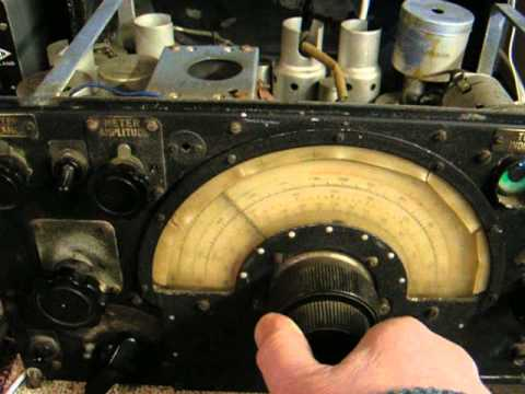 DABHANDRADIO R1155A Lancaster Bomber Radio Receiver 1941/42  Check it out!!