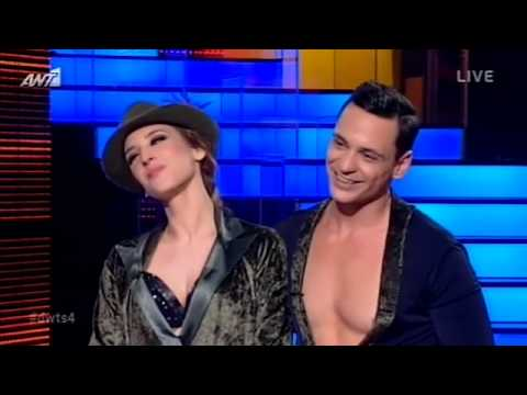 Dancing with the stars 4 12ο live 12-01-2014