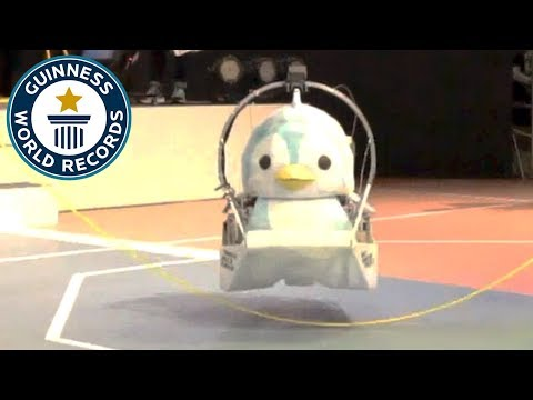 Jumpen the Skipping Penguin Robot – Guinness World Records
