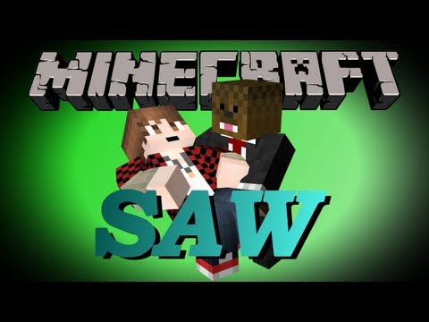 Minecraft Saw Adventure Map w/ Mitch and Jerome