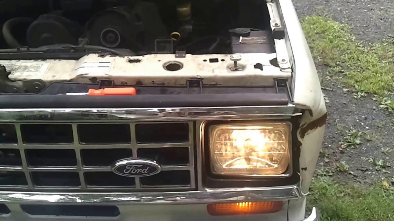 1988 83 88 Ford Ranger Auto Repair How To Replace Headlights