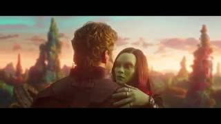 Guardians of the Galaxy Vol. 2- Peter & Gamora dance/Argument clip