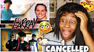 LARRAY- CANCELED (OFFICIAL MUSIC VIDEO) REACTION  (ICONIC Diss Track!! 🤯) | Favour