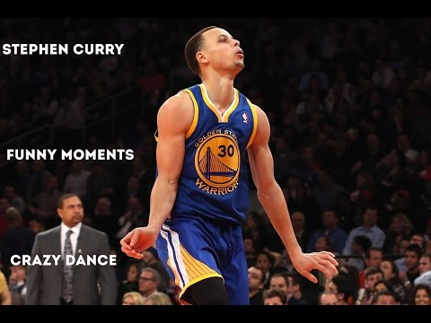 Stephen Curry Funny Moments (Crazy Dance)