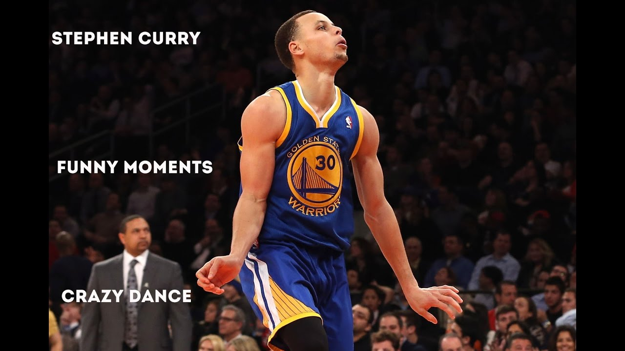 e6dc739b78f6 Stephen Curry Funny Moments (Crazy Dance) - YouTube