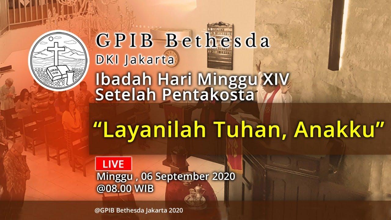 Ibadah Hari Minggu XIV Sesudah Pentakosta (06 September 2020)