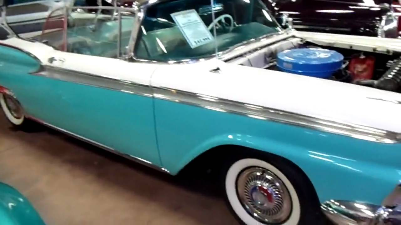 1959 Ford Fairlane 500 Galaxie Skyliner Retractable Hardtop - Fully ...