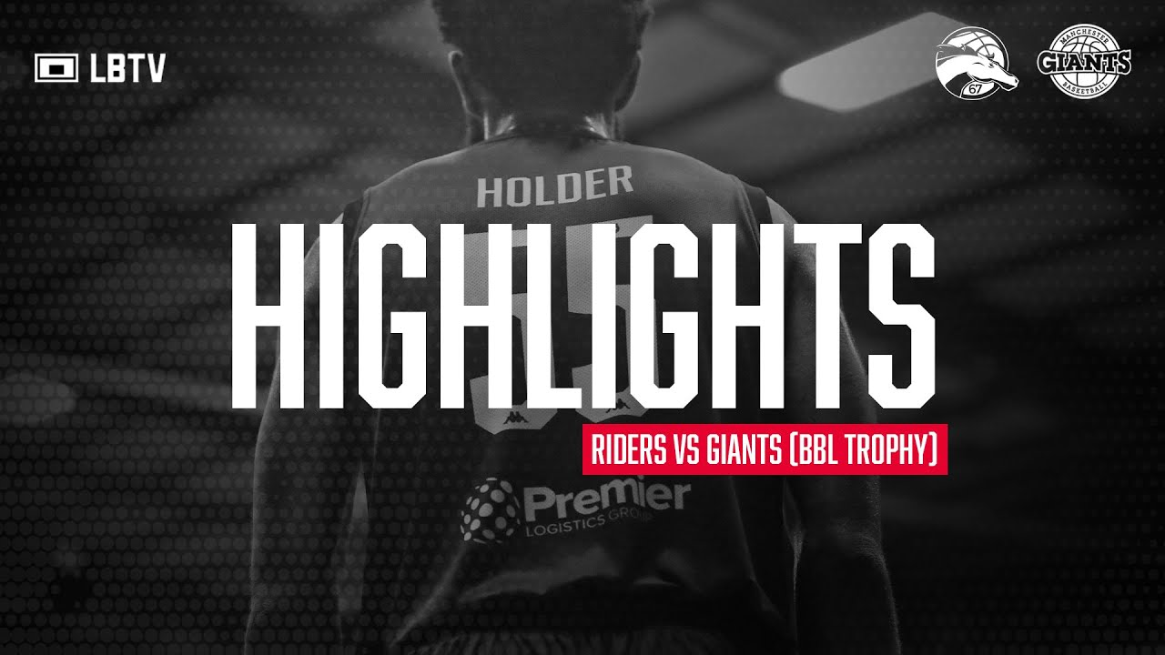 Highlights: Leicester Riders vs Manchester Giants