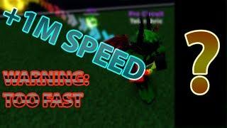 Ich bin so schnell, dass es BROKE DAS SPIEL.... (Legenden der Geschwindigkeit ROBLOX)