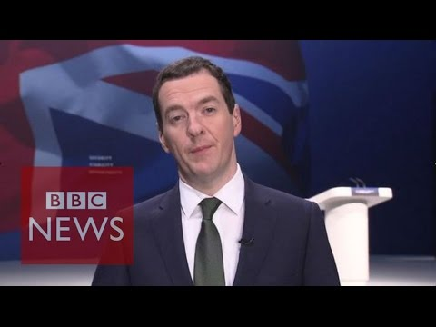 George Osborne: 'Disaster' to stop building (FULL Interview) - BBC News