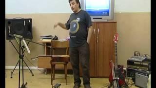 Marcello Smenghi #01 Guitar Alternative Clinics-Presentazione- Codiverno -Vigonza (PD) 29 May 2009