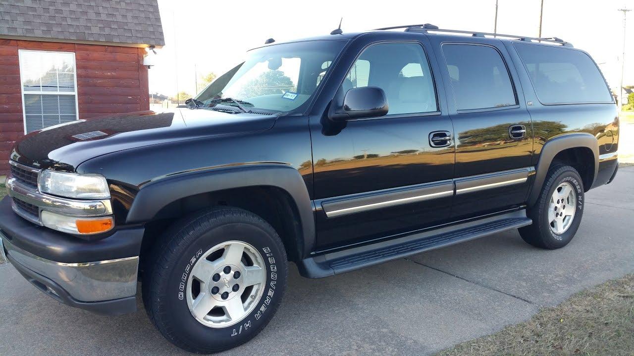 2005 Chevrolet Suburban 1500 LT - Black - YouTube