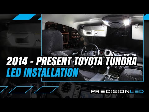 Toyota Tundra LED Interior How To Install - 3rd Gen 2014+