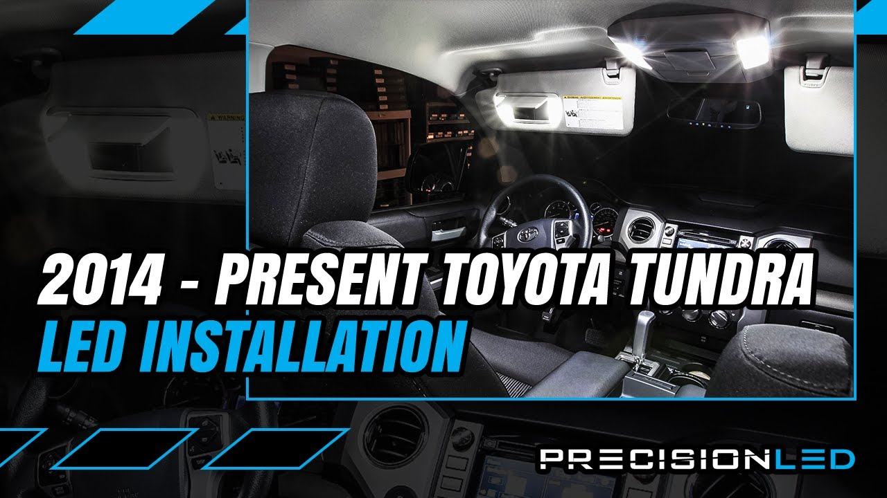 Toyota Tundra LED Interior How To Install   3rd Gen 2014+