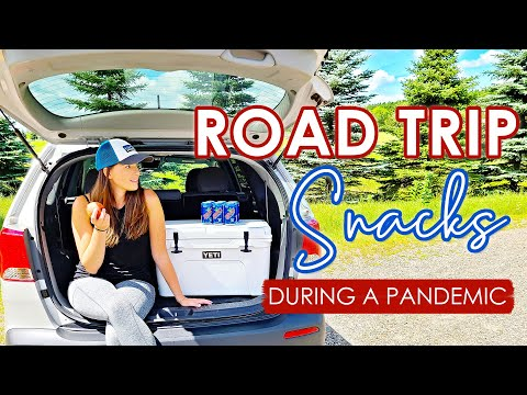 ROAD TRIP SNACKS, BREAKFAST & LUNCH IDEAS | Easy & Essential | Road tripping during a pandemic!!