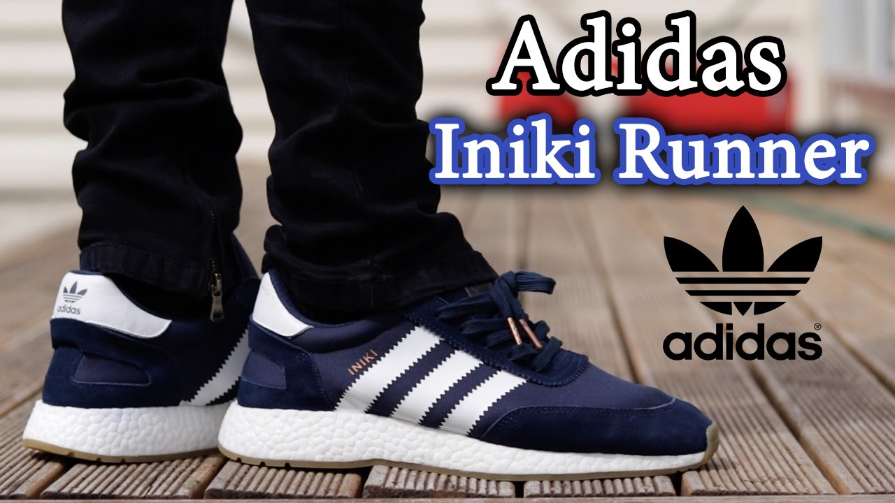 Adidas Iniki Runner On Feet and Close Up with Different Pants (EARLY  UNBOXING)