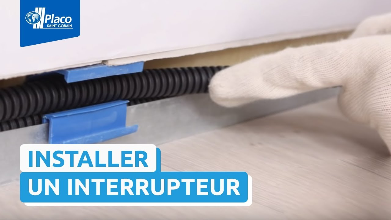 Placo easycable youtube - Tv au mur comment cacher les fils ...