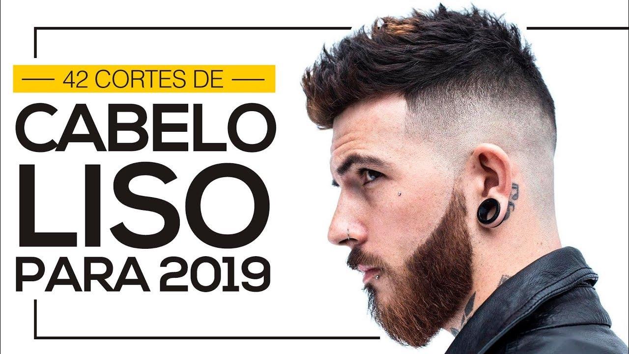 42 Cortes De Cabelo Liso Masculino Para 2019
