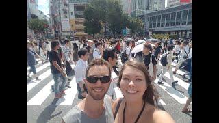World's Busiest Intersection, Shibuya Crossing!