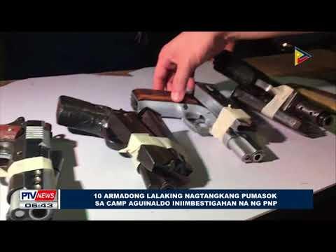 10 armadong lalaking nagtangkang pumasok sa Camp Aguinaldo, iniimbestigahan na ng PNP