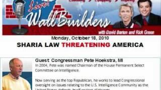 Wallbuilders Live: Sharia Law Threatens America (Part 1 of 2)