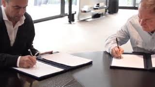 Mestre y Schiaretti firmaron la actualización del convenio por salud y educación
