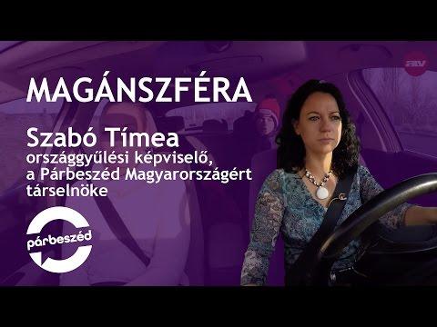 Szabó Tímea az ATV Magánszféra című műsorában
