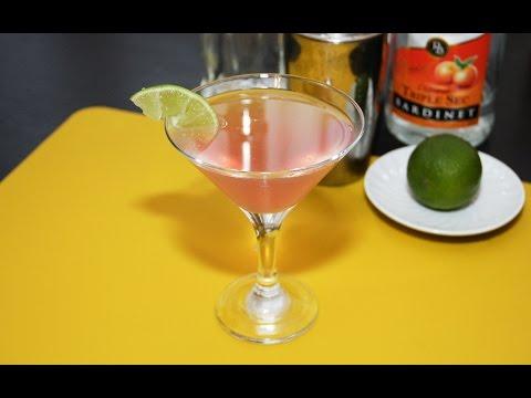 Cosmopolitan cocktail - reteta video
