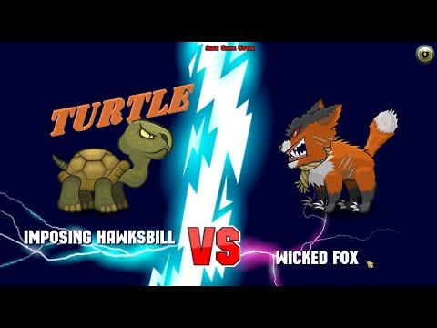 Mutant Fighting Cup 2 Turtle - New Animal - Continuation series (Europe Cup 1-5) Turtle Part 187